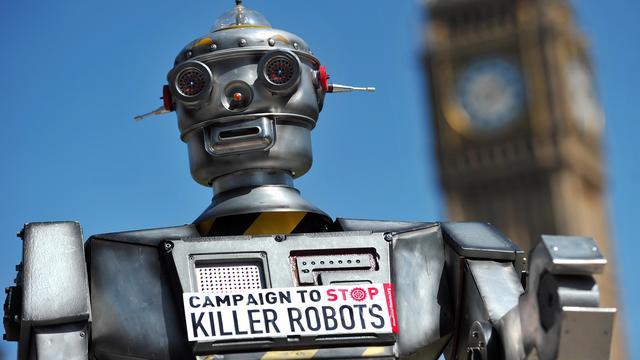Europees Parlement wil 'killer robots' verbieden