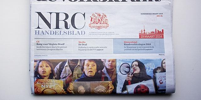 Havisten lezen Volkskrant, vwo'ers NRC