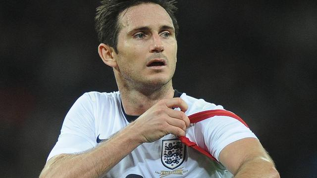 Frank Lampard stopt als Engels international