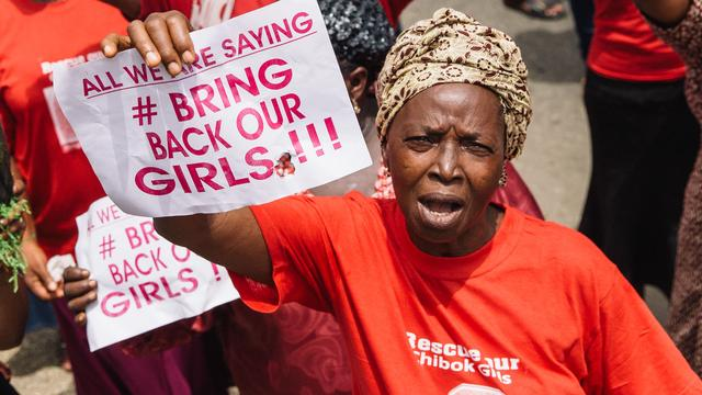 'Nog geen schoolmeisjes bevrijd van Boko Haram'