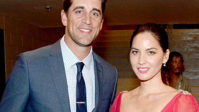 'Olivia Munn en Aaron Rodgers hebben verloving afgebroken'