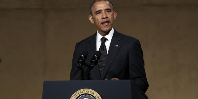 Leider Oekraïne spreekt Obama in Warschau