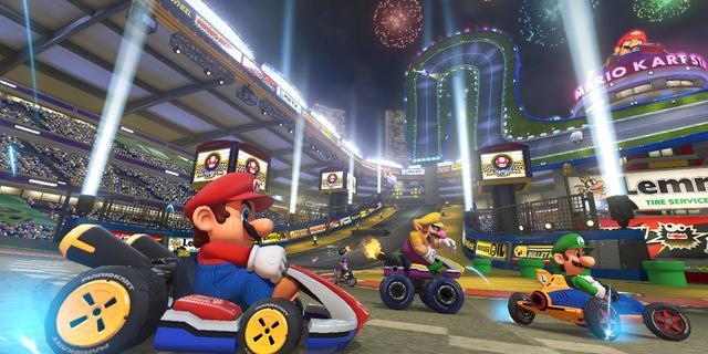 Mario Kart-competitie voor 65-plussers in game arena