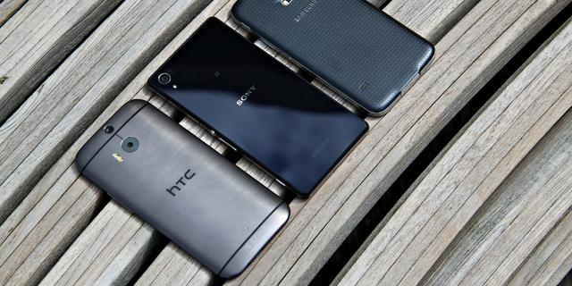 Vergelijking: HTC One M8, Galaxy S5 of Xperia Z2?