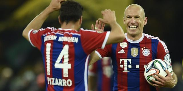 Robben strijdt met Ronaldo en Neuer om prestigieuze prijs