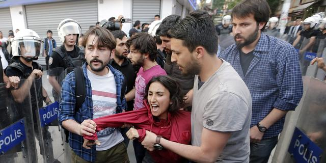 Turkse politie sluit Soma af na protesten