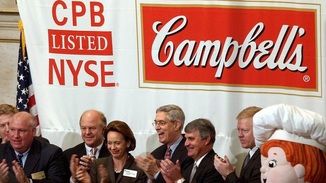 Lagere omzet voor Campbell Soup
