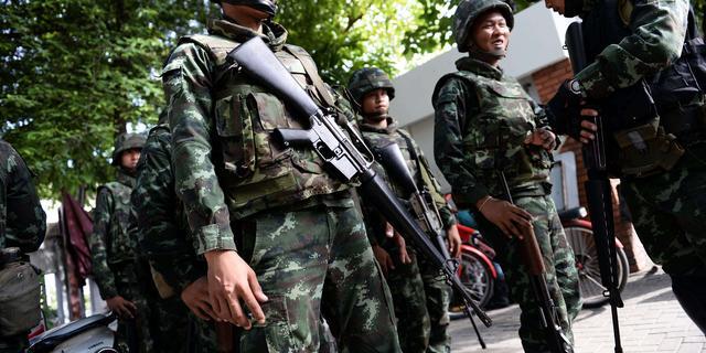 Leger Thailand kondigt krijgswet af