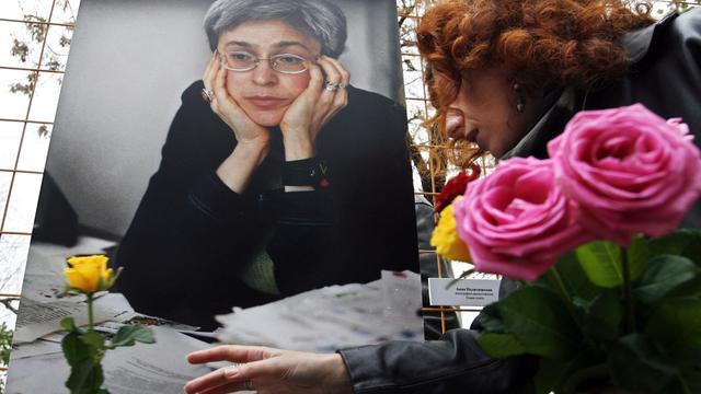 Levenslang voor moord op journalist Politkovskaja