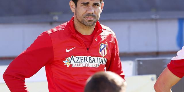 Del Bosque: 'Op laatste moment beslissing over Costa'
