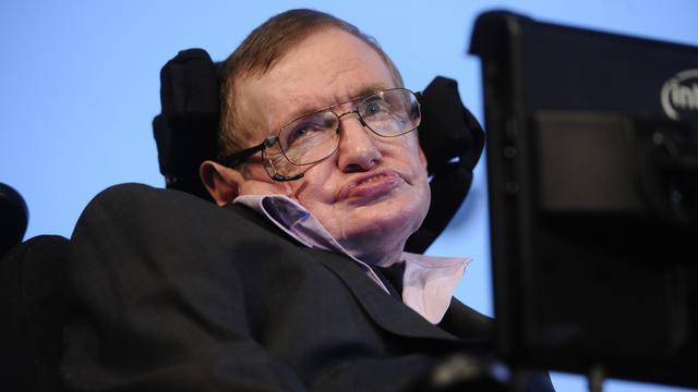 Stephen Hawking gaat waarschijnlijk de ruimte in
