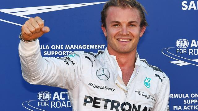 Rosberg behoudt pole position in Monaco