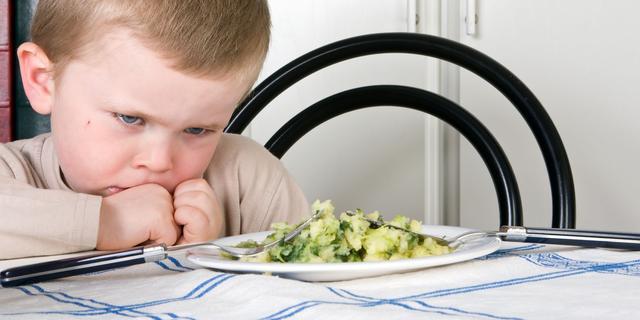 Gezond voedsel schrikt kleuters af