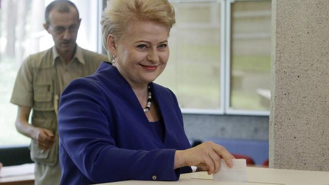 President Litouwen herkozen