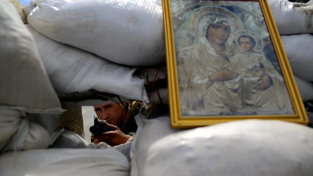 Kiev vraagt Rusland grens te sluiten