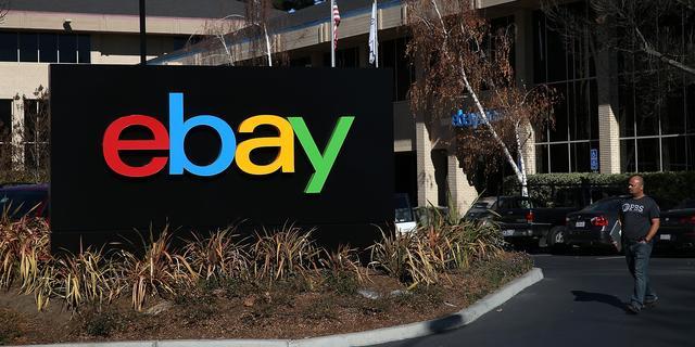 Winst eBay daalt