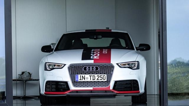 Audi RS5 TDI is sneller dan benzineversie