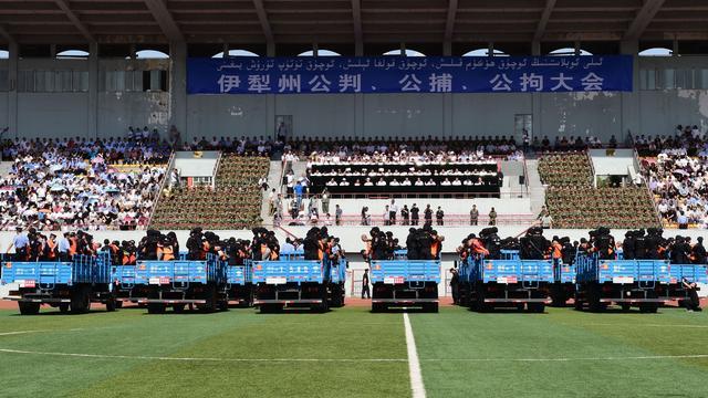China houdt opnieuw massaproces