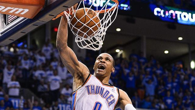 Thunder naast Spurs in finale Western Conference NBA
