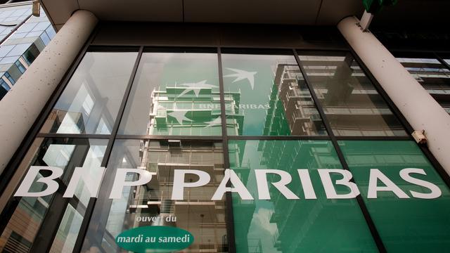 Omzet en winst BNP Paribas vallen iets lager uit