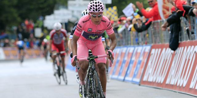 Quintana: 'Hoef geen terrein te verliezen in tijdrit'