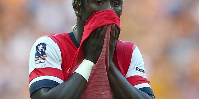 Sagna definitief weg bij Arsenal