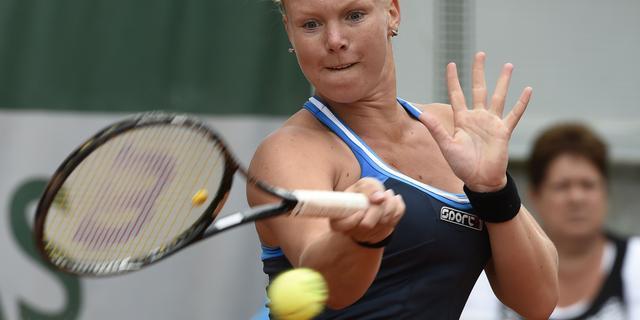 Bertens bereikt derde ronde Roland Garros