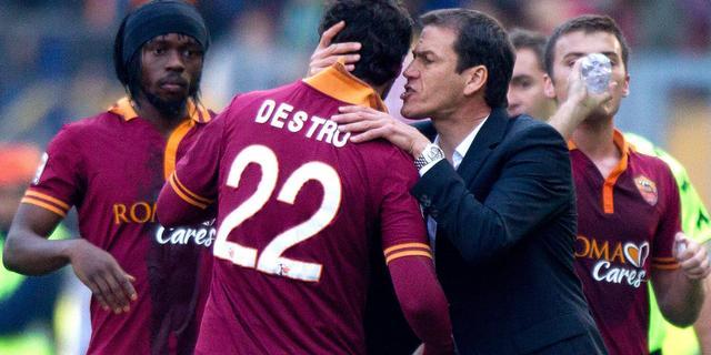 Trainer Rudi Garcia langer in dienst van AS Roma