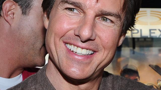 Trailer op set nieuwe film Tom Cruise in brand