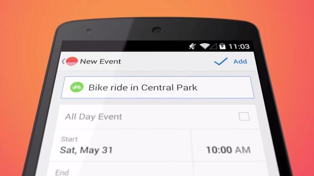Agenda-app Sunrise ondersteunt Android-tablets