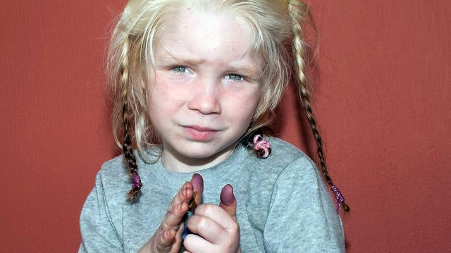 Roma-meisje Maria blijft in Griekenland