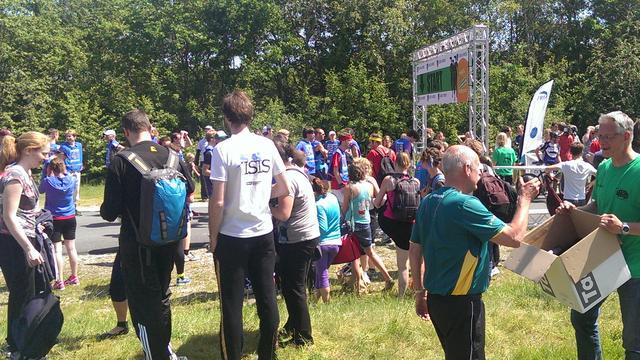 Studentenvereniging voor triathlonlopers wint Lauwersloop