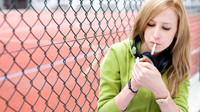 'Dure sigaretten ontmoedigen rokende tieners'