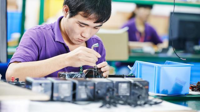 Meer orders Chinese industrie