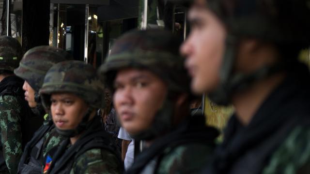 Leger Thailand opnieuw paraat tegen protesten