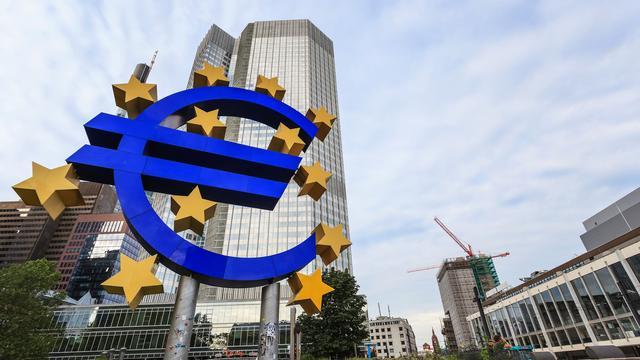 Kredietverlening eurozone toont verbetering