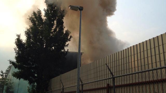 Grote brand in Noord-Hollandse autosloperij