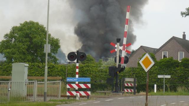 Duizend varkens dood na brand in Limburgse stal