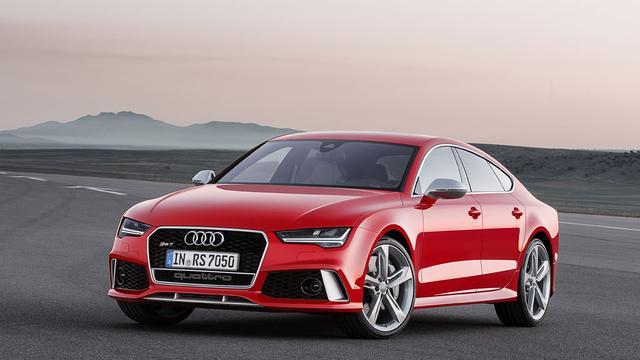 Audi vernieuwt RS7 Sportback
