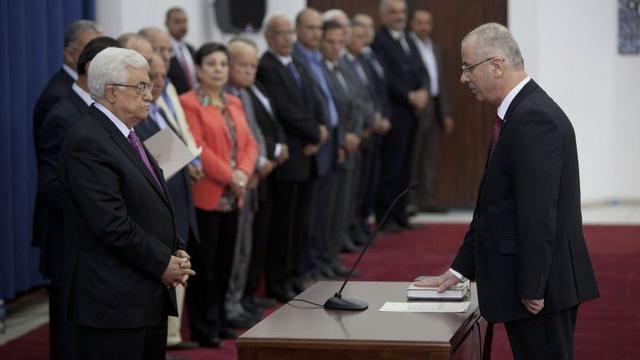 Palestijnse eenheidsregering beëdigd