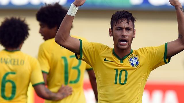 Neymar helpt Brazilië aan ruime oefenzege richting WK
