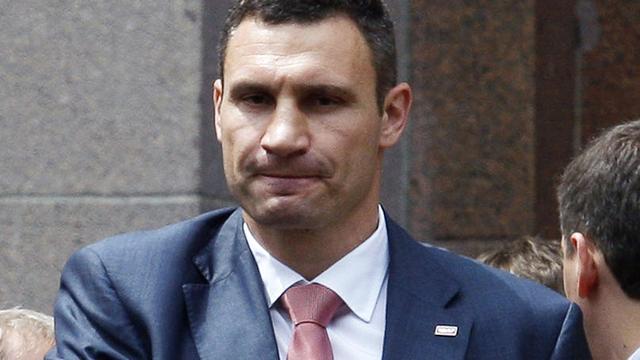 Klitsjko wordt burgemeester Kiev