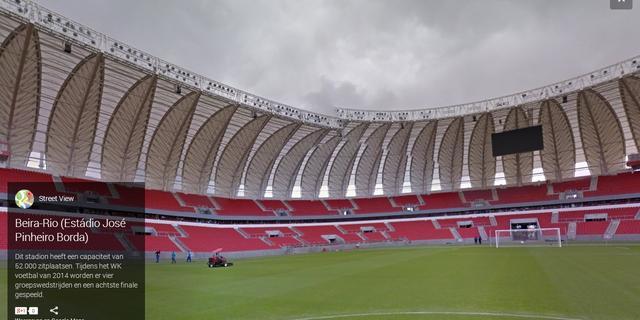 Google zet WK-stadions op Street View