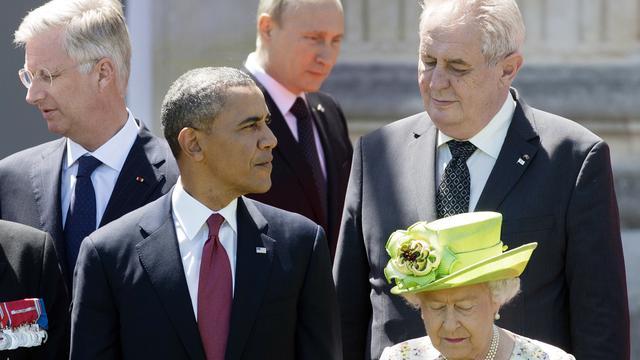 Poetin spreekt met Obama en Porosjenko