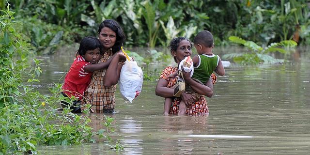 Overstroming treft ruim 100.000 mensen Sri Lanka