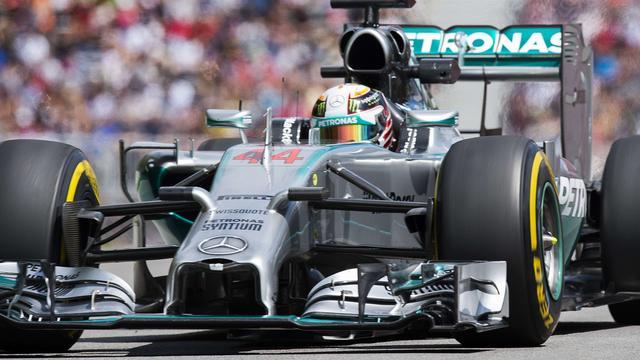 Hamilton snelste in tweede vrije training GP Canada