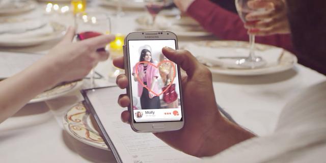 Tinder te gebruiken op Android-smartwatches