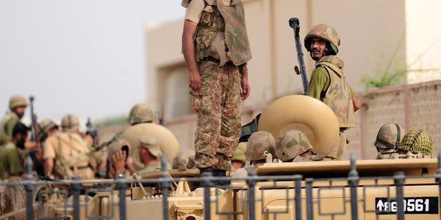 Honderd militanten dood na luchtaanval Pakistan