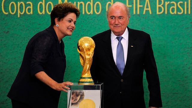 Braziliaanse president verdedigt hoge kosten WK