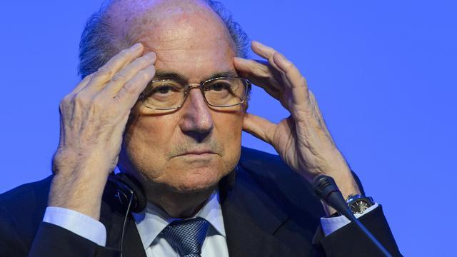 FIFA-voorzitter Blatter haalt uit naar Van Praag